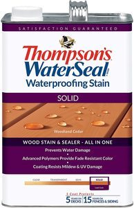 4. THOMPSONS WATERSEAL TH.043851-16 Solid Waterproofing Stain