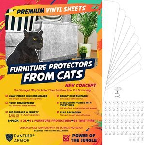 5. Panther Armor Furniture Protectors from Cat Scratch