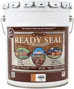 5. Ready Seal 512 Pail Natural Cedar Exterior Stain and Sealer