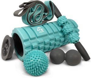 6. 321 STRONG 5 in 1 Foam Roller Set