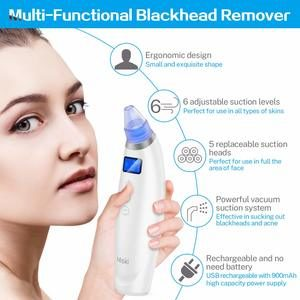 6. Blackhead Remover Vacuum Pore Cleaner