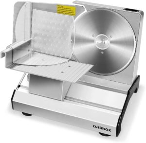 7. CUSIMAX Electric Deli Food Slicer