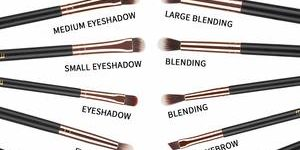 7. MSQ Eye Makeup Brushes 12pcs