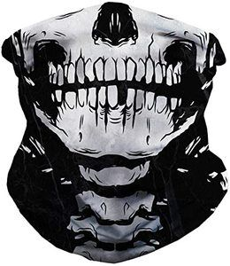 7. iHeartRaves Seamless Face Cover Mouth Mask