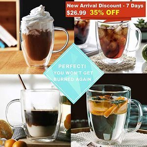 Top 11 Best Glass Coffee Mugs in 2021 Reviews