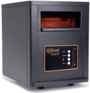 1. AirNmore Comfort Deluxe Infrared Space Heater