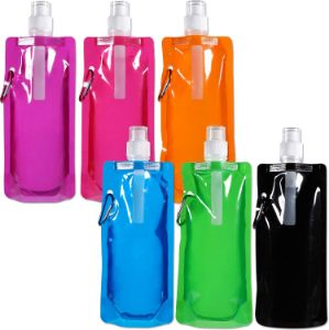 1. Collapsible Reusable Drinking Water Bottle, 6 Colors