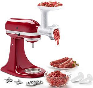 1. Food Meat Grinder Attachments for KitchenAid Stand Mixers