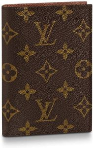#1. Louis Vuitton Passport Cover Monogram M64502