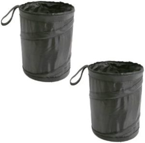 1. UTSAUTO Car Trash Can Garbage Bin, 2 Pcs