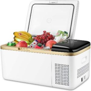 10. 19 Quart Portable Refrigerator (White)