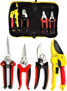 10. KOTTO Pruner Shears Garden Cutter Clippers, 4 Packs