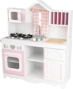 10. KidKraft 53222 Modern Country Kitchen Toy