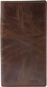 #10. Men's Derrick Leather Executive Fossil Wallet