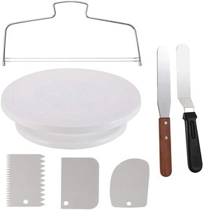 10. Miecux Cake Decorating Turntable, Cake Decorating Supplies