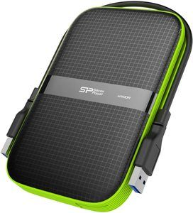 10. Silicon Power 2TB Rugged External Hard Drive