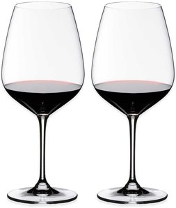 12. Riedel Heart to Heart Cabernet Sauvignon Glasses, Set of 2