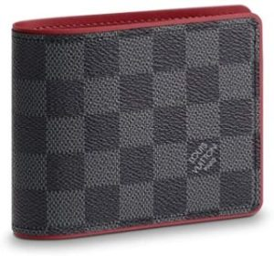 #2. Louis Vuitton Damier Graphite Canvas