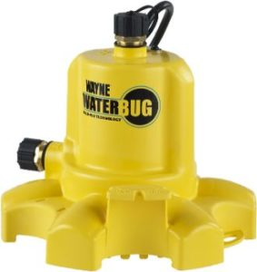 2. WAYNE WWB WaterBUG Submersible Pump