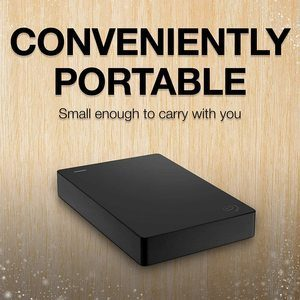 3. Seagate Portable 5TB External Hard Drive HDD