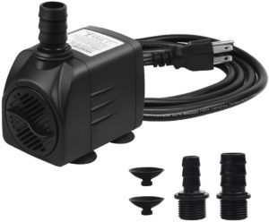 4. Aquastore Fountain Pump 400GPH 25W