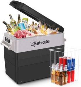 4. AstroAI Portable Freezer 12 Volt Car Refrigerator