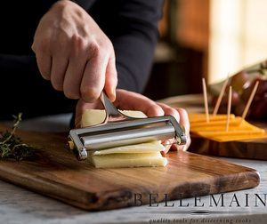 4. Bellemain Adjustable Thickness Cheese Slicer