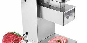 4. NEWTRY Commercial Meat Cutter 5mm 1102LBS H 550W