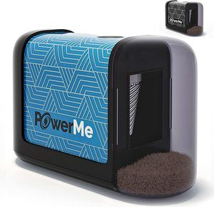 4. POWERME Electric Pencil Sharpener for Colored Pencils