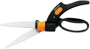 5. Fiskars 92146964J Swivel Soft Touch Grass Shear