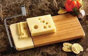 5. Prodyne 126-B Bamboo Cheese Slicer
