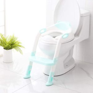 5. SKYROKU Potty Training Toilet for Kids (Blue)