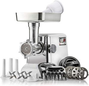 5. The Powerful STX Turboforce Electric Meat Grinder & Sausage Stuffer