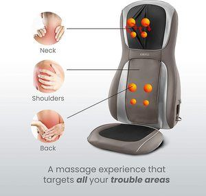 6. Homedics Perfect Touch Masseuse Heated Massage Cushion