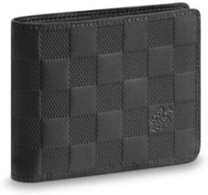 #6. Louis Vuitton Damier Infini Leather Multiple Wallet