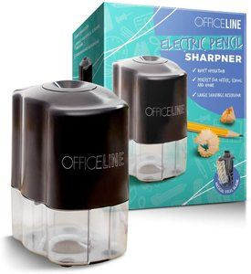 6. Officeline Electric Pencil Sharpener - for School and Classroom