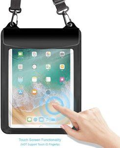6. Universal Tablet Waterproof Case Pouch Dry Bag (Black)