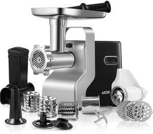 7. 2500W Max Powerful AICOK MG2950R 5-IN-1 Meat Mincer