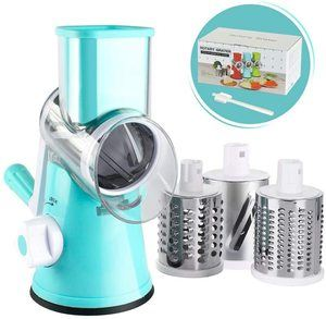 7. Cambom Manual Rotary Cheese Grater