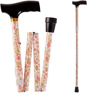 7. Duro-Med Designer Folding Walking Cane