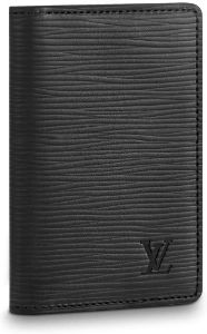 #7. Louis Vuitton Pocket Organizer Epi Leather (Noir)
