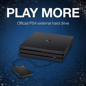 7. Seagate (STGD2000100) Game Drive for PS4 Systems
