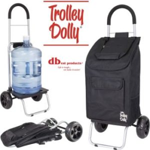 7. dbest products Trolley Dolly, Black
