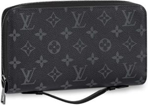 #8. Louis Vuitton Zippy XL Wallet Monogram Eclipse Canvas M61698