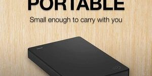 8. Seagate Portable 2TB External Hard Drive