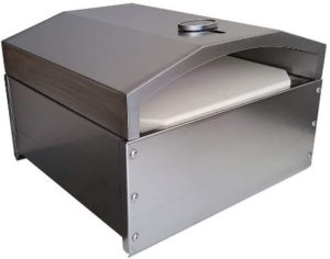 8. Unifit Red Stag Outdoor Pizza Oven with Stone Kit