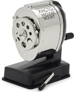 8. X-ACTO KS Manual Vacuum Mount Pencil Sharpener