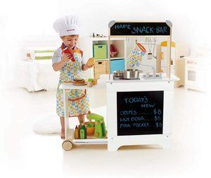 9. Hape Playfully Delicious Cook 'n Serve Wooden Play Kitchen