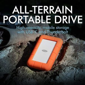9. LaCie Rugged Thunderbolt USB-C 5TB External Hard Drive