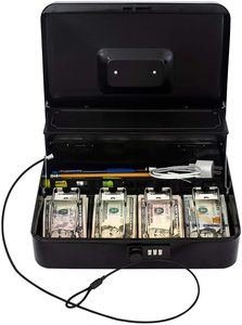 9. OSAFE – Money Box with Lock & Security Cable